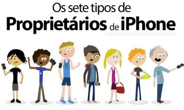 7tipos1 - humor- Os 7 tipos de proprietarios de Iphone