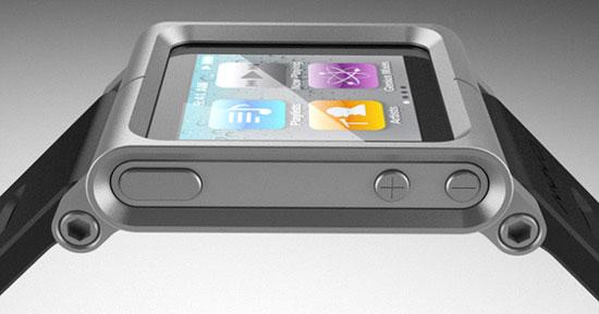 iPod nano no pulso