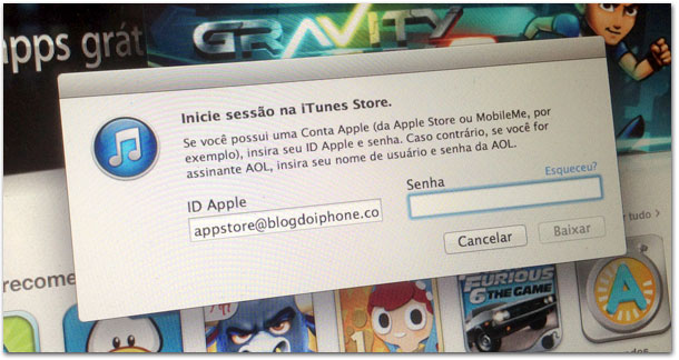Bug no iTunes
