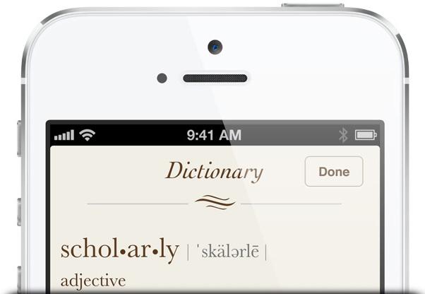 Dicionário no iOS