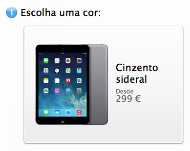 iPad mini cinza