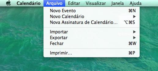 Assinando no Mac