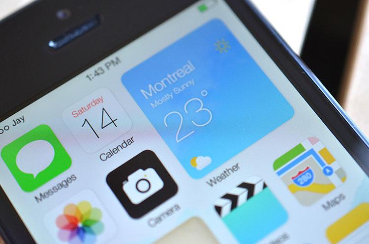 Conceito iOS 8