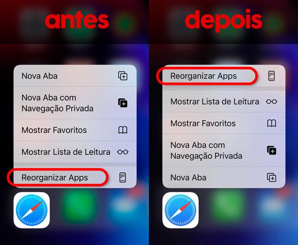 veja as novidades 7º beta do ios 13 Veja as novidades 7º beta do iOS 13 iOS13 menuSaf