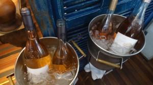 Primeira fotogarfia publicada no artigo Interfood Todo Vino apresentou seus deliciosos vinhos rosés provençais do Château D'Esclans