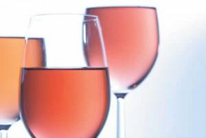 Primeira fotogarfia publicada no artigo Mais algumas linhas sobre o vinho rosé