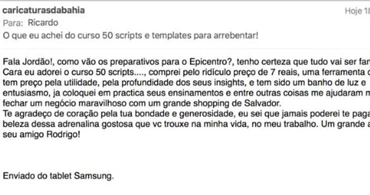 Um feedback sobre os 50 SCRIPTS.