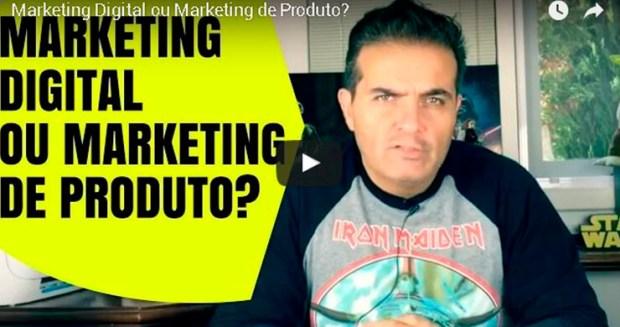 Marketing Digital ou Marketing de Produto.