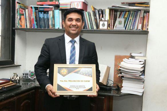 Wellington do Curso é premiado pelo 2º ano consecutivo como o deputado mais atuante do MA