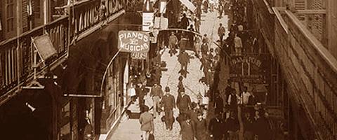 Rua do Ouvidor, 1890