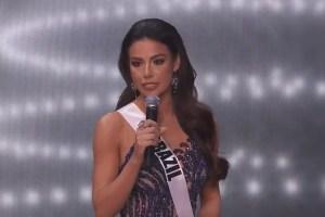Brasileira Julia Gama fica em 2º lugar no Miss Universo; México leva coroa