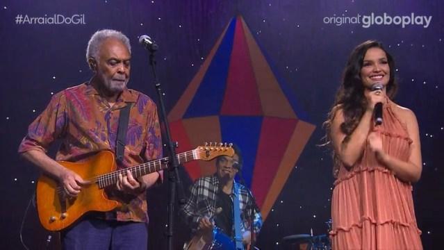 Gilberto Gil, sempre contemporâneo, traz Juliette para a cena universal da música brasileira