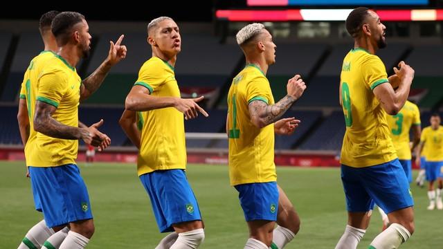 Paraibano marca e Brasil vai às semifinais nas Olimpíadas de Tokio