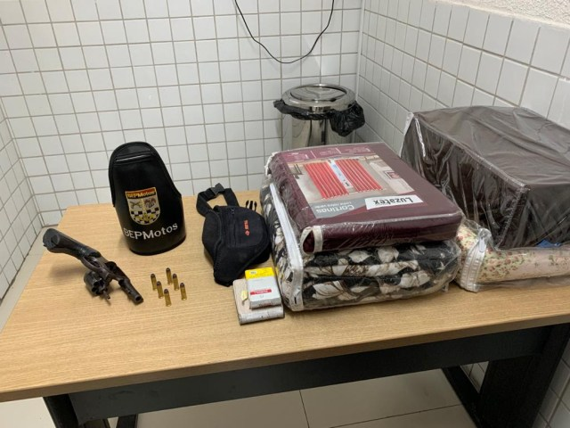 Polícia apreende suspeito de assalto e recupera carro e produtos roubados na Capital