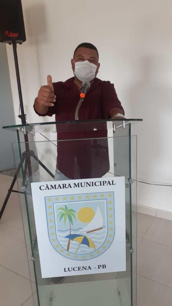 Enfim, Júnior Bocão realiza sonho e participa de primeira sessão como vereador de Lucena