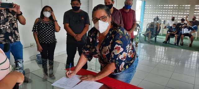 FOTOS – Flagrantes da posse dos diretores do SINTRAMUL nesta quarta-feira (22),em Lucena