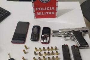 Polícia prende grupo suspeito e apreende arma de fogo no Sertão Paraibano