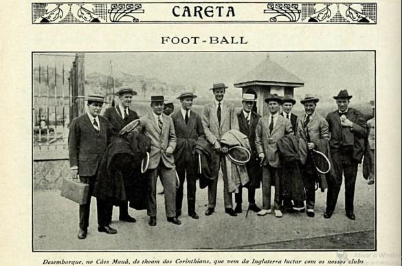 Careta - Desembarque Corinthian Team