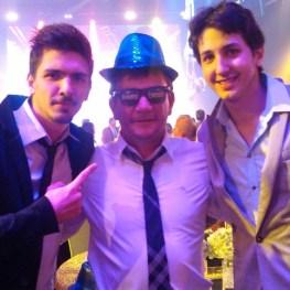 Lucas Sanchez, Andres Sanches e o filho de Giuliano Bertolucci