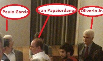 Paulo, Fran e Oliverio