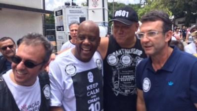 Neto, Ronaldo e André