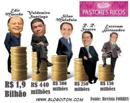 pastores ladrões