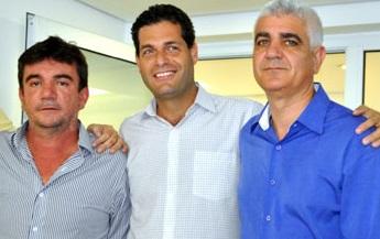 Andres Sanches (esq.) e Olivério Junior (dir.)