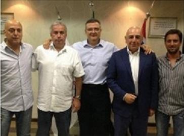 Gilmar Veloz, Roberto de Andrade, Mario Gobbi, Adriano Galliani e Duilio Monteiro