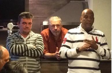Andres Sanches, Marcio Seboso e André Negão