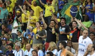 torcida brasil e argentina