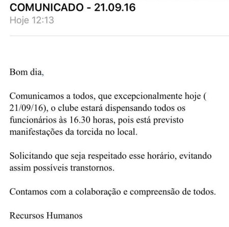 corinthians-comunicado
