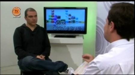 Entrevistado pela TV Câmara - Jacareí - 2013