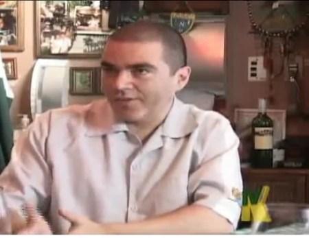 Entrevistando Muricy Ramalho e Belluzzo, na TV Kajuru, em 2010