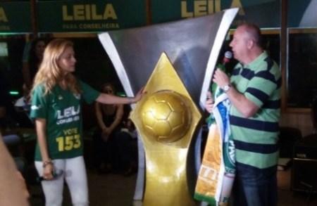 Leila Pereira e Paulo Serdan