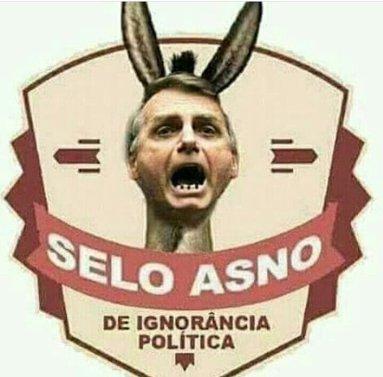 Bolsonaro é burro mesmo – Blog do Paulinho