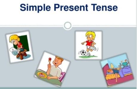 materi simple present tense