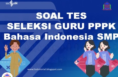 latihan soal tes seleksi pppk ibahasa indonesia smp sma smk