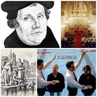 Católicos, Lutero, Anabatistas e os dons espirituais