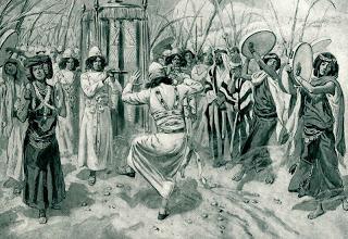 A dança na Bíblia - um estudo sem sapateado!