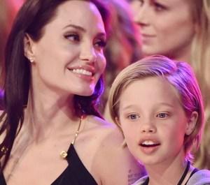 Angelina e Shiloh