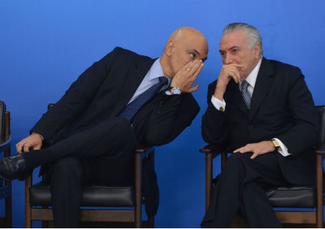 """Temer discute estratégia para camuflar a operação """"estacar Lava Jato"""" — Blog do Renato"""