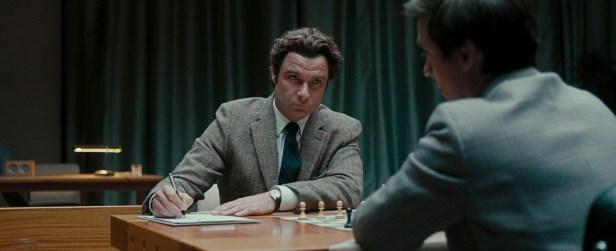 Allerhöchste Konzentration: Boris Spasski (Liev Schreiber) bei der Schachweltmeisterschaft 1972 in Reykjavík.