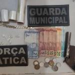 Polícia Militar e Guarda Municipal prendem indivíduo por furto e tráfico de drogas em Itapecuru-Mirim
