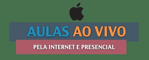 aulas ao vivo de mac ipad e iphone
