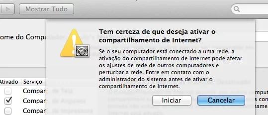 Como usar o Mac como roteador Wi-Fi-