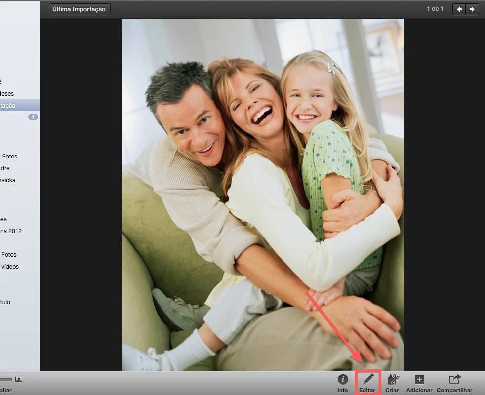 Como editar uma foto no Mac para publicar no Facebook