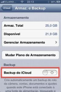 Como fazer o backup do iPhone usando o iCloud