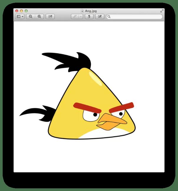 Como excluir o fundo branco de uma imagem no Mac