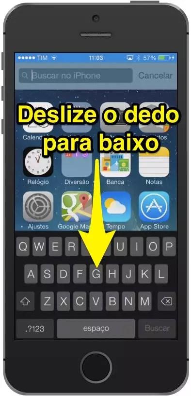 Como fazer buscas no iPhone e iPad com iOS 7