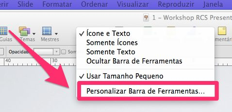 personalizar janelas do Mac